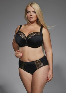 KRIS LINE - BETTY semi soft, czarny